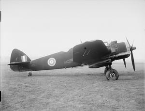 AIRCRAFT OF THE ROYAL AIR FORCE, 1939-1945: BRISTOL TYPE 156 BEAUFIGHTER.