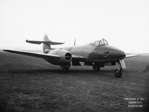 AIRCRAFT OF THE ROYAL AIR FORCE 1939-1945: GLOSTER METEOR.