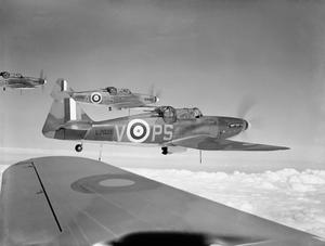 AIRCRAFT OF THE ROYAL AIR FORCE, 1939-1945:BOULTON PAUL P.82 DEFIANT.