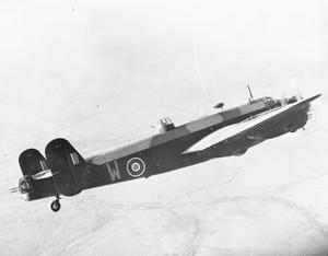 AIRCRAFT OF THE ROYAL AIR FORCE, 1939-1945: HANDLEY PAGE HP.57 HALIFAX.
