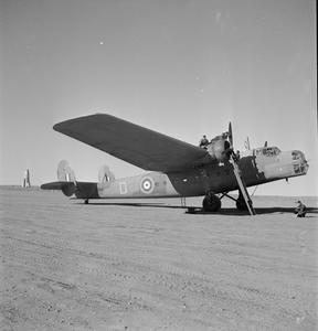 AIRCRAFT OF THE ROYAL AIR FORCE, 1939-1945: BRISTOL TYPE 130 BOMBAY.
