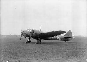 AIRCRAFT OF THE ROYAL AIR FORCE 1939-1945: BRISTOL TYPE 142M BLENHEIM I.