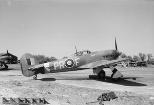 AIRCRAFT OF THE ROYAL AIR FORCE 1939-1945: HAWKER TYPHOON.
