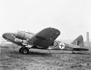 AIRCRAFT OF THE ROYAL AIR FORCE 1939-1945: AIRSPEED AS.10 OXFORD.