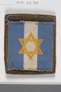 badge, formation, Jewish Brigade Group