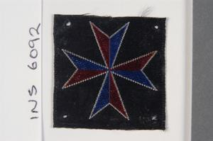 badge, formation, Malta HQ RA and Mobile Artillery