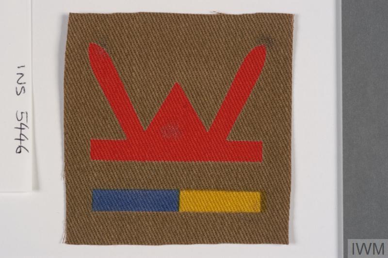 badge, formation, 53rd (Welsh) Infantry Division
