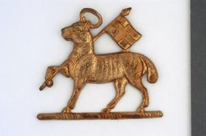 badge, headdress, British, The Queen's Royal Regiment (West Surrey), other ranks