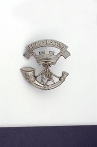 badge, headdress, British, Prince Albert's (Somerset Light Infantry) & Somerset Light Infantry (Prince Albert's)
