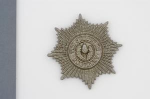 badge, headdress, British, Cheshire Regiment, other ranks