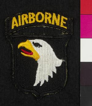 badge, formation, American, shoulder sleeve insignia, 101st Airborne Division