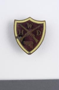 badge, British, Women's Home Defence Force