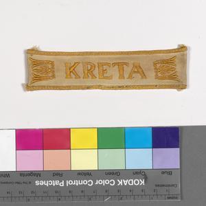 brassard, German, cuff title, Kreta