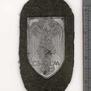 badge, special, German, Cholm armshield
