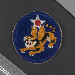 badge, unit, American, American Volunteer Group, Flying Tigers