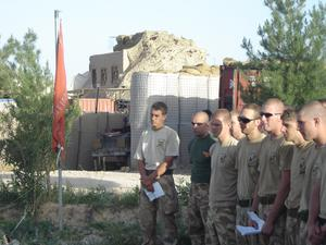1ST BATTALION, ROYAL ANGLIAN REGIMENT IN AFGHANISTAN DURING HERRICK VI, MARCH - OCTOBER 2007