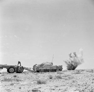 TANK RECOVERY DURING THE BATTLE