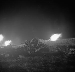 FIRST ARMY ATTACK ON LONGDTOP HILL, TUNISIA