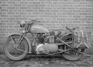 MILITARY MOTORCYCLES OF THE SECOND WORLD WAR
