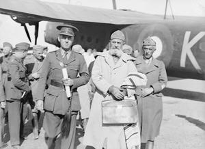 CAPTURED ITALIAN GENERALS FROM THE WESTERN DESERT