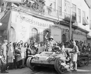 BRITISH ADVANCE INTO SYRIA