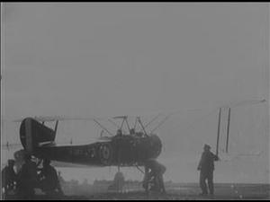 HMS ARGUS ALIGHTING TRIALS [Main Title]