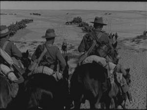 INSPECTION OF THE IMPERIAL CAMEL CORPS [Main Title]