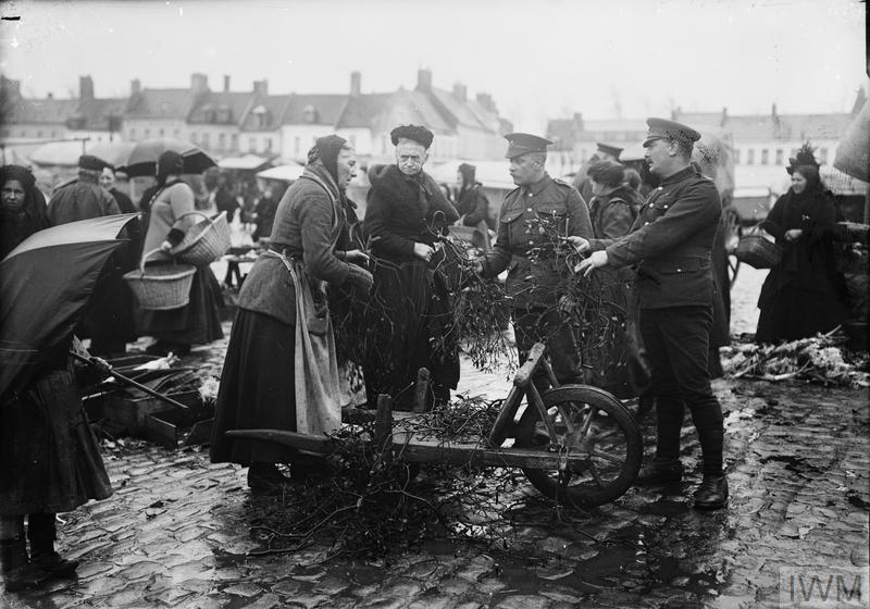 CHRISTMAS ON THE WESTERN FRONT, 1914-1918