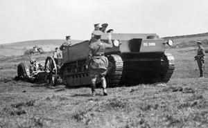 BRITISH MILITARY VEHICLES 1918-1939