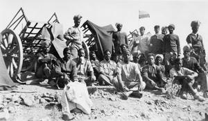 SERVICE OF SERGEANT HARRY EWIN WITH THE ROYAL ARTILLERY IN INDIA DURING THE EARLY 1930s