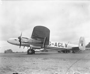 AIRCRAFT OF THE ROYAL AIR FORCE, 1939-1945: AVRO 691 LANCASTRIAN.