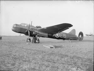 AIRCRAFT OF THE ROYAL AIR FORCE 1939-1945: AVRO 679 MANCHESTER.