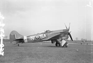 AIRCRAFT OF THE ROYAL AIR FORCE 1939-1945: HAWKER TEMPEST.