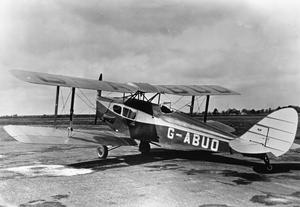 INTER WAR BRITISH AIRCRAFT
