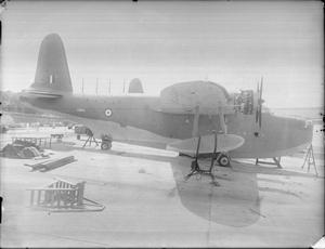 AIRCRAFT OF THE ROYAL AIR FORCE, 1939-1945: SHORT S.25 SUNDERLAND.