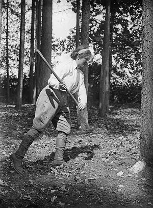 THE WOMEN'S LAND ARMY IN BRITAIN, 1915-1918