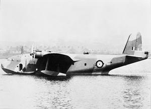AIRCRAFT OF THE ROYAL AIR FORCE, 1939-1945: SHORT S.26 'G' CLASS EMPIRE FLYING BOAT.