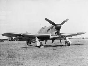 AIRCRAFT OF THE ROYAL AIR FORCE 1939-1945: HAWKER TYPHOON.