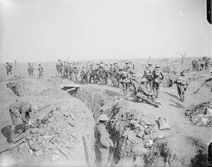 THE SOMME OFFENSIVE ON THE WESTERN FRONT, 1916
