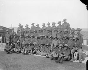 TROOPS OF THE BRITISH EMPIRE ON THE WESTERN FRONT, 1914-1918