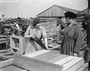 THE EMPLOYMENT OF WOMEN ON THE WESTERN FRONT, 1914-1918
