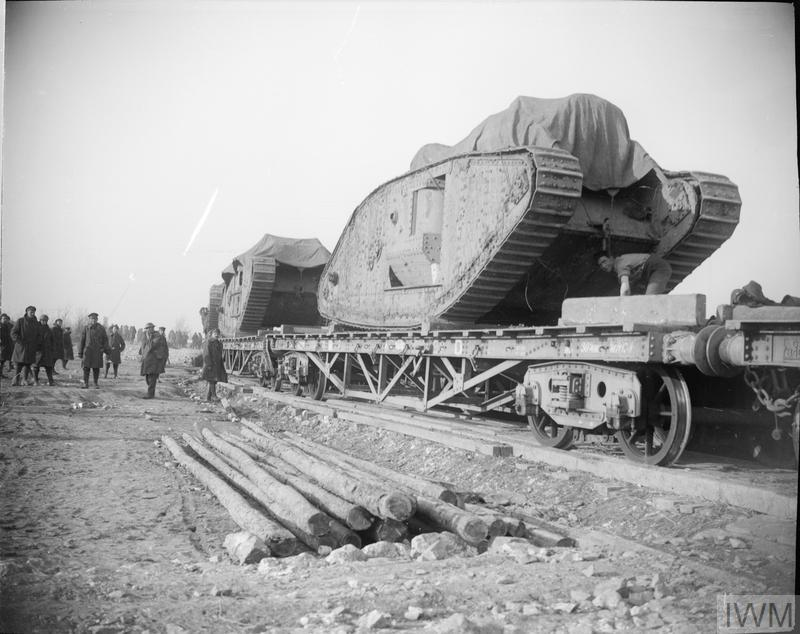 The Battle Of Cambrai November December 1917 Q 7288