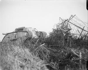 THE TANK WARFARE ON THE WESTERN FRONT, 1917-1918