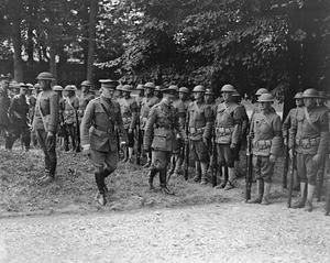 THE US ARMY ON THE WESTERN FRONT, 1917-1918