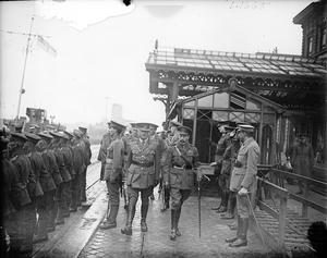 THE OFFICIAL VISITS TO THE WESTERN FRONT, 1917-1918