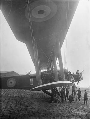 THE ROYAL FLYING CORPS ON THE WESTERN FRONT, 1914-1918