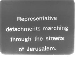 GENERAL ALLENBY'S ENTRY INTO JERUSALEM [Main Title]