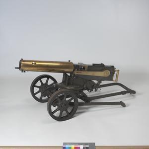 Russian Maxim M1905 Machine-gun [German 7.92mm conversion]