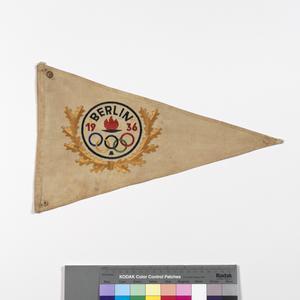 Flag, Voluntary and Recreational, German, Olympic Games, Berlin 1936