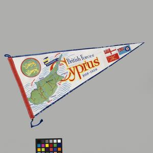 Flag, Pennon, British Forces Cyprus 1958-59